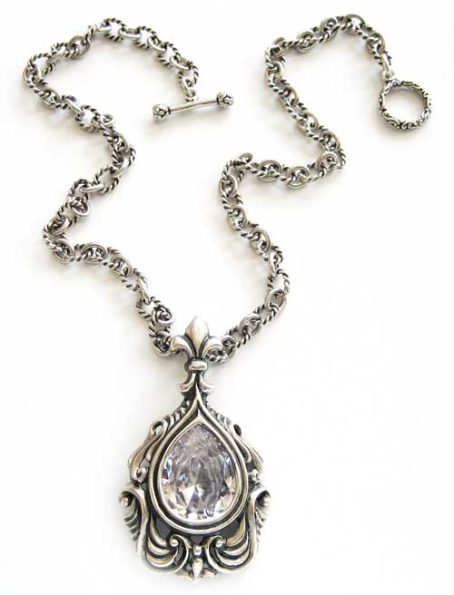 Tino Pendant shown in Crystal