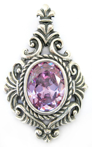Torcello Pendant with Amethyst